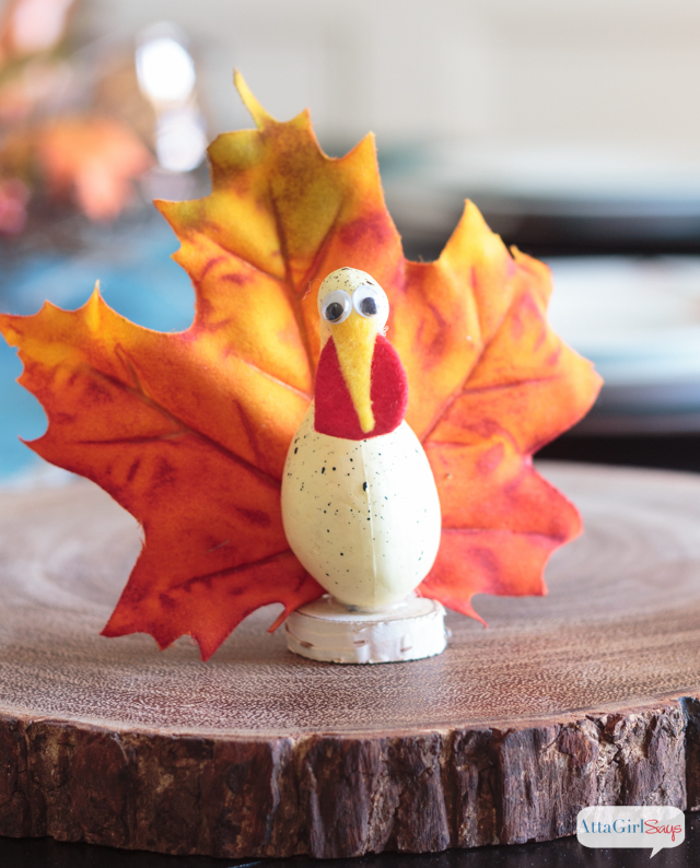 Goofy Gourd Thanksgiving Turkeys