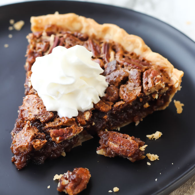 The Best Chocolate Pecan Pie