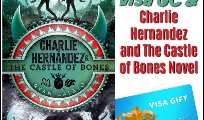 Charlie Hernandez and The Castle of Bones Novel & $25 Visa GC