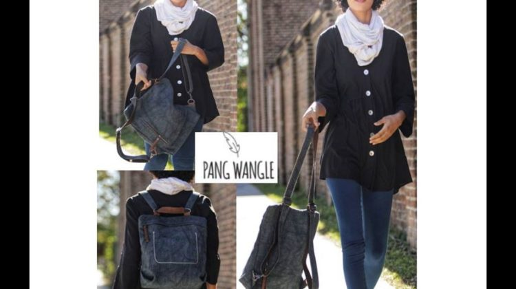#Win Pang Wangle Convertible Backpack $95 arv