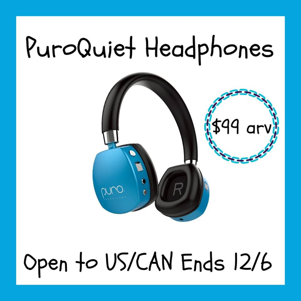#Win Kids PuroQuiet On-Ear Active Noise Cancelling Headphones, US, ends 12/6