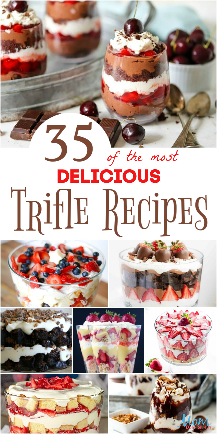 35 of the most Delicious Trifle Recipes Your Family Will Love #recipes #desserts #sweets