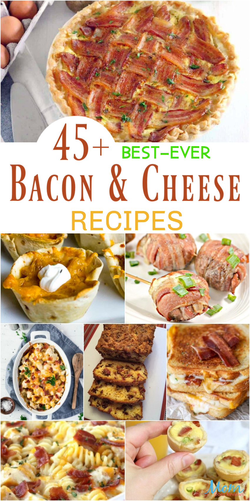 45+ Best-Ever Bacon & Cheese Recipes That Will Make You Drool #food #recipes #bacon