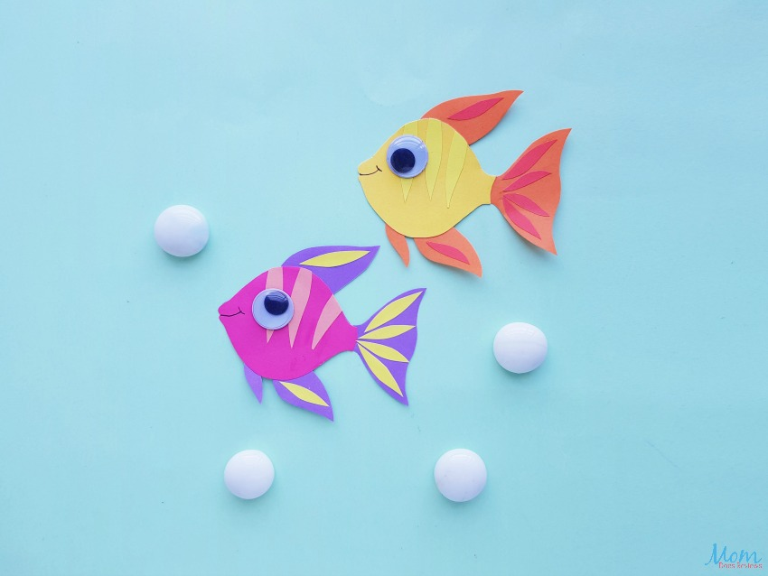 Adorable Angelfish Paper Craft for Kids
