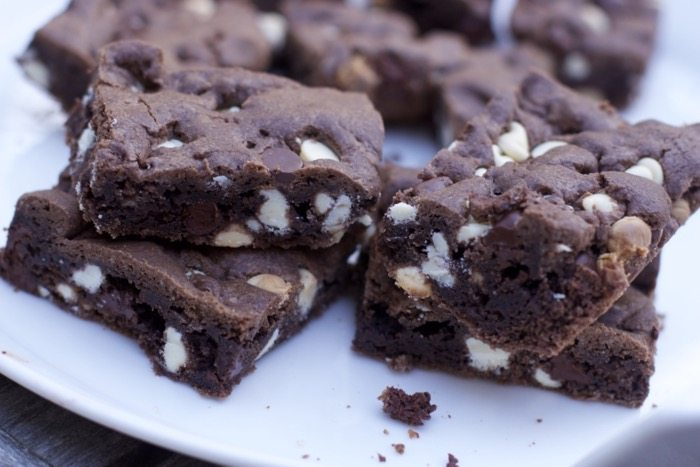 Cookie Bars with Chocolate Cake Mix