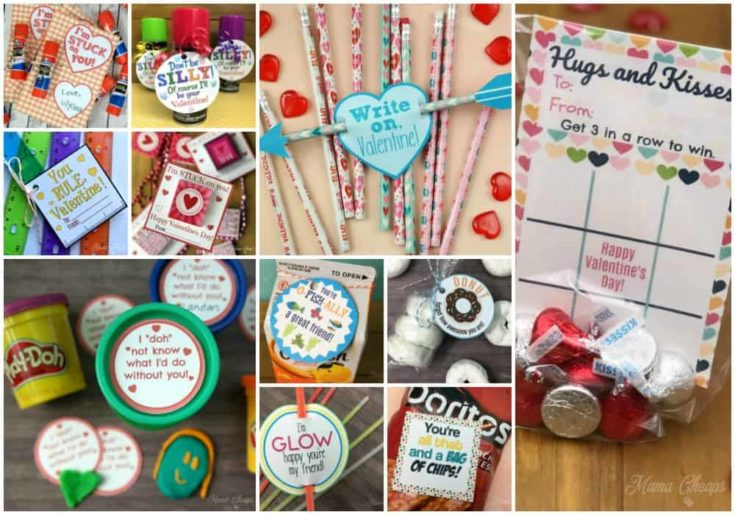 15 FREE Valentine Printables That Use Dollar Store Supplies