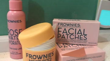 Reduce Fine Lines & Wrinkles with FROWNIES Facial Skincare Products