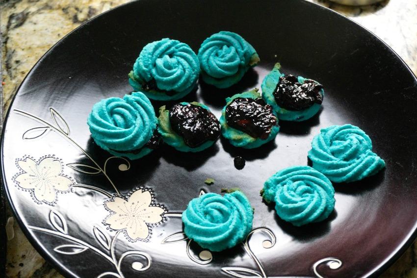 Frozen Inspired Rose Cookies Recipe process