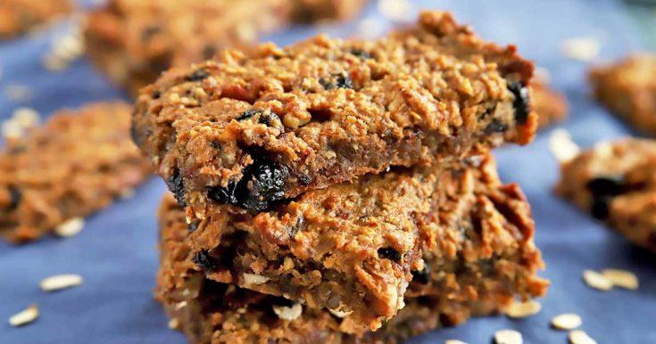 Gluten-Free Blueberry Pecan Oat Bars
