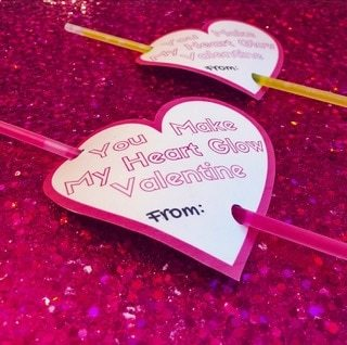 FREE Valentine Template Printable Card For Kids