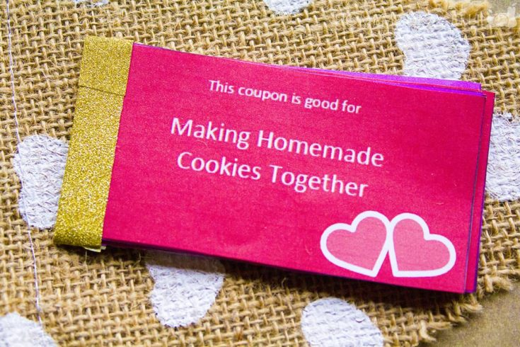 Valentines Day Coupons for Kids - a Free Printable