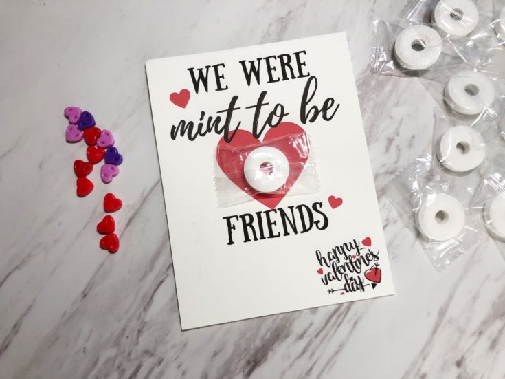 """We were """"mint"""" to be friends Valentines"""