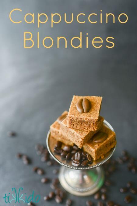 Cappuccino Blondies Bar Cookie