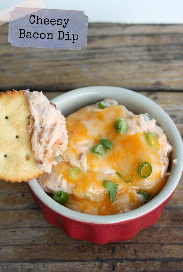 Cheesy Bacon Dip Recipe