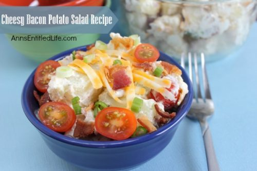 Cheesy Bacon Potato Salad Recipe