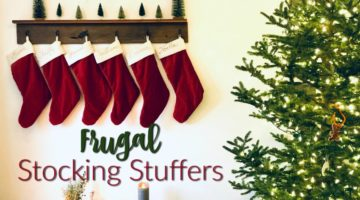 Frugal Christmas Stocking Stuffers