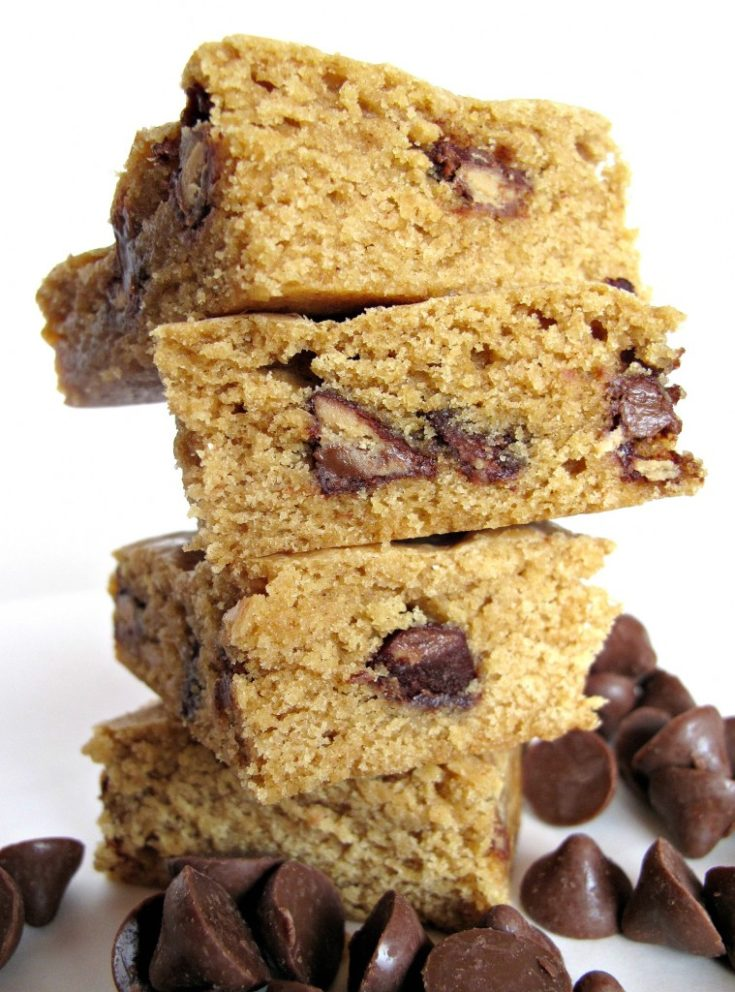 Peanut Buttery Bars and Cookies
