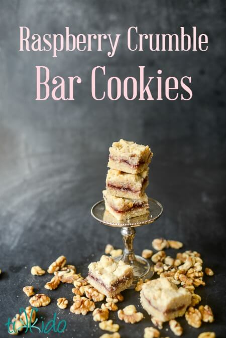 Raspberry Crumble Bar Cookies Recipe