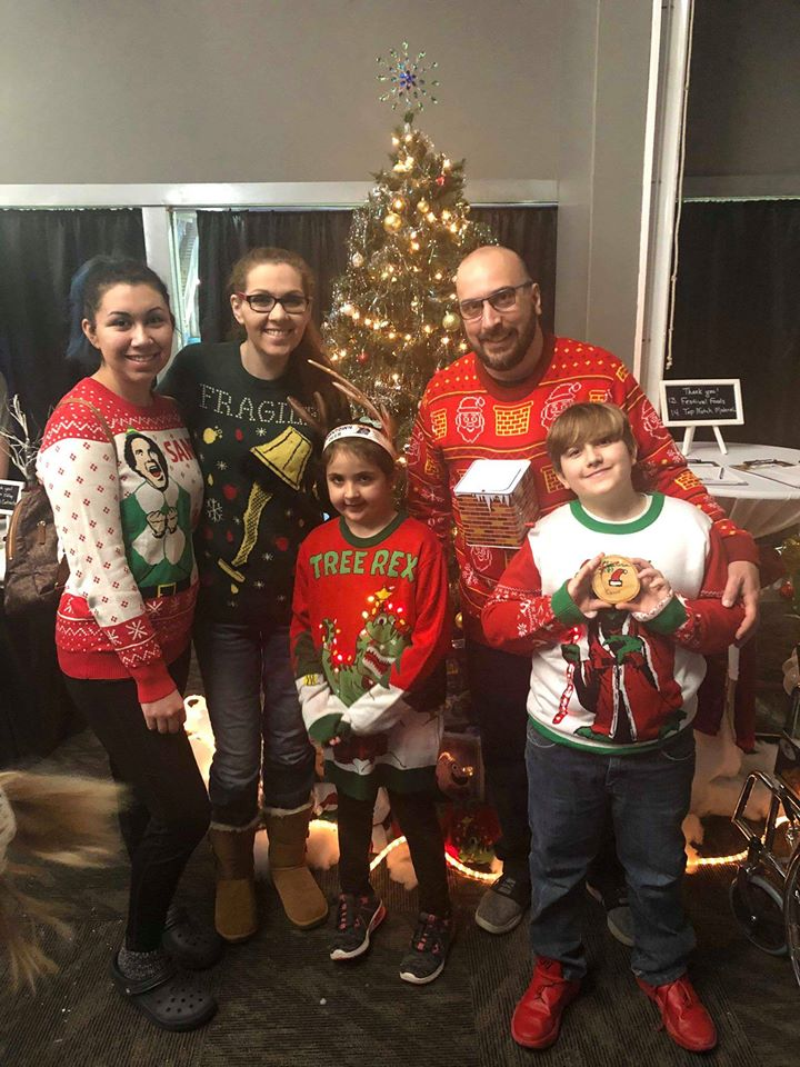 Win 3 Ugly Christmas Sweaters