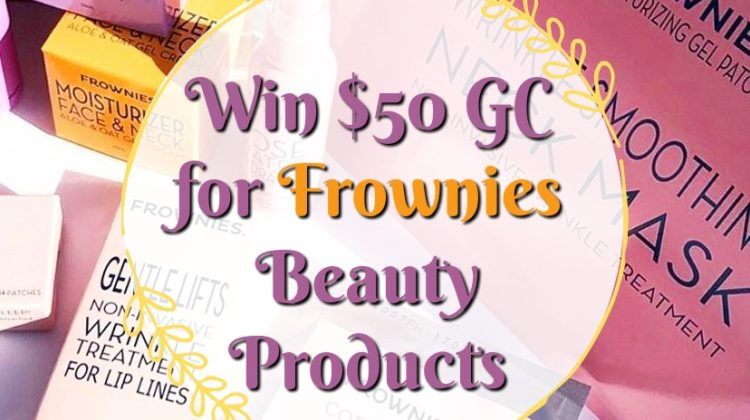 #Win $50 Gift Code for Frownies Beauty Products US Only #MegaChristmas19