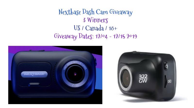 3 #Winners- Next Base Dash Cam ($169 each)