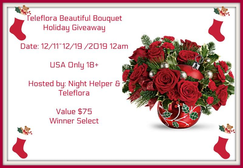 Win A Teleflora Beautiful Bouquet