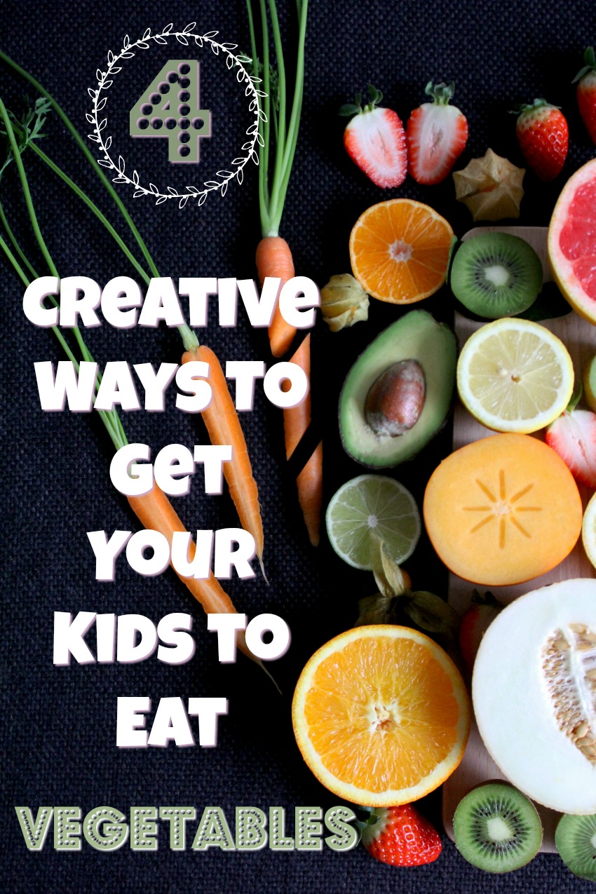 4 Creative Ways To Help Your Kids Enjoy Eating Vegetables#health #parenting #food