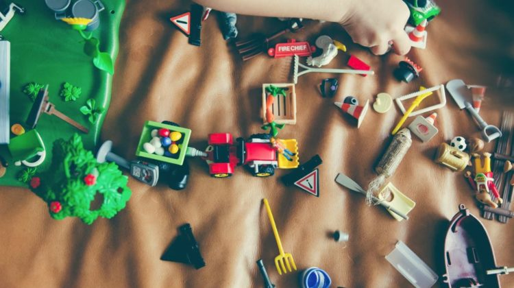 5 Post-Christmas Playroom Decluttering Ideas