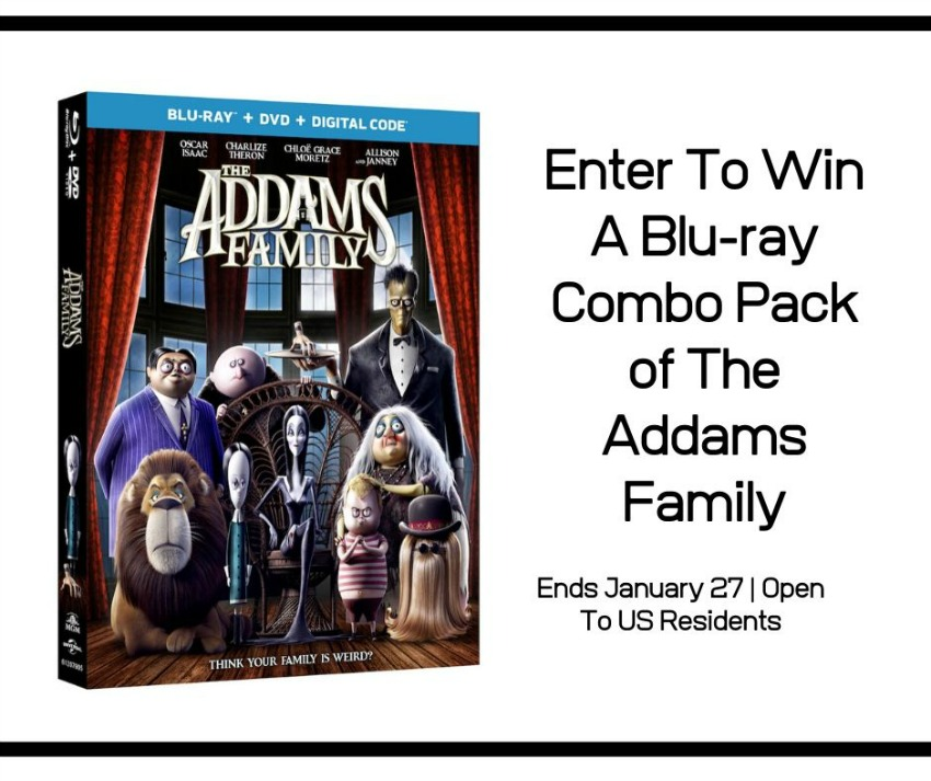 Blu-Ray Combo of The Adams Family giveaway button
