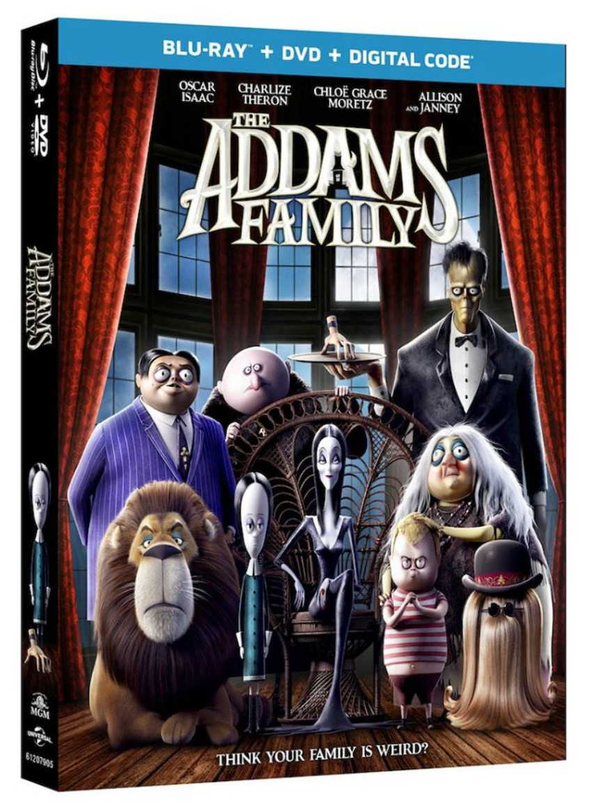 Blu-Ray Combo of The Adams Family