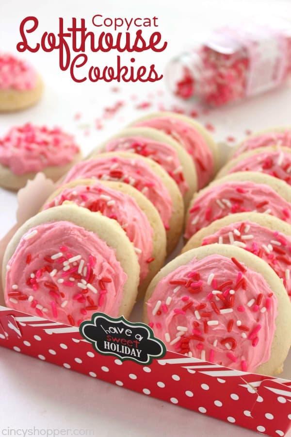 Copycat Lofthouse Cookies