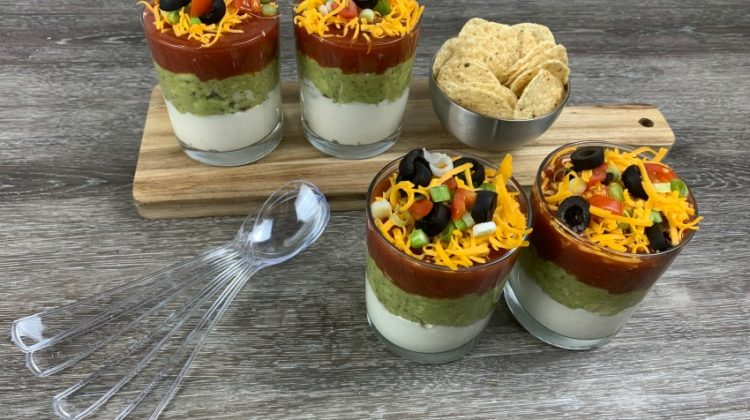 Easy Game Day Layered Dip Recipe