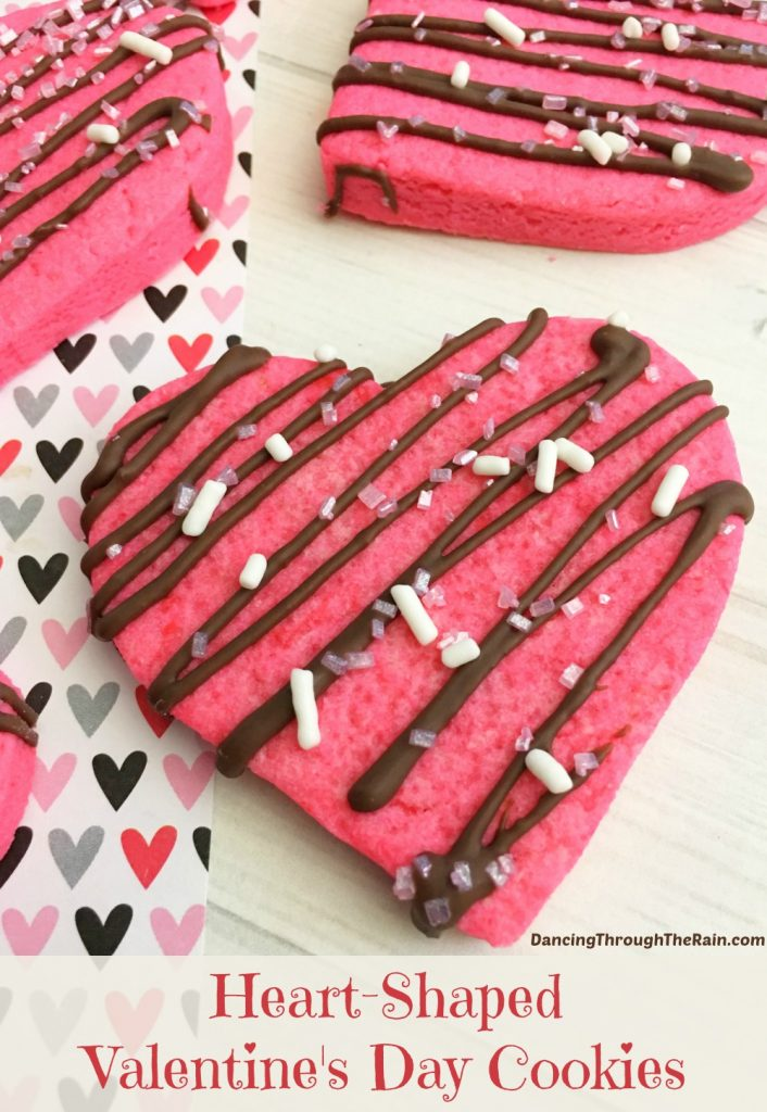 Heart-Shaped Valentine's Day Cookies