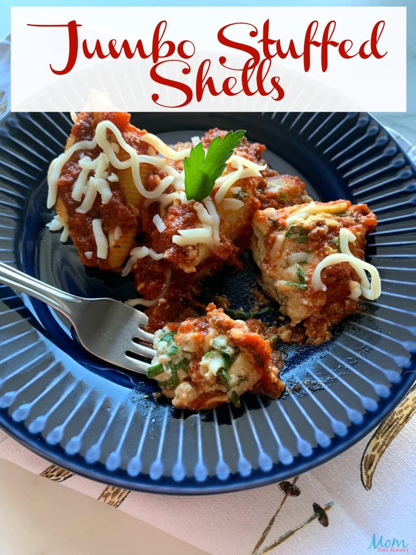 Jumbo Stuffed Shells Crockpot #Recipe #crockpot #Foodie
