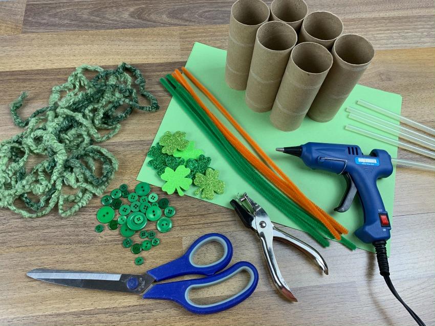 Leprechaun Lookers - supplies needed