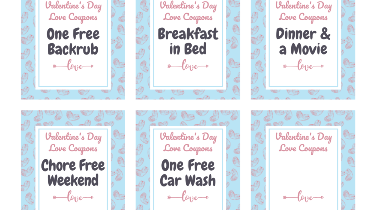 Valentine's Day Coupons for your Sweetheart! #Sweet2020 #printables #sweetheart