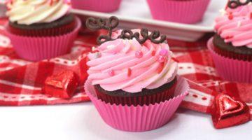 Valentine Love Cupcakes Recipe & Tutorial