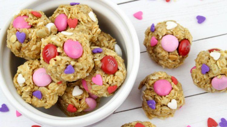 Valentine Oatmeal Bites Recipe
