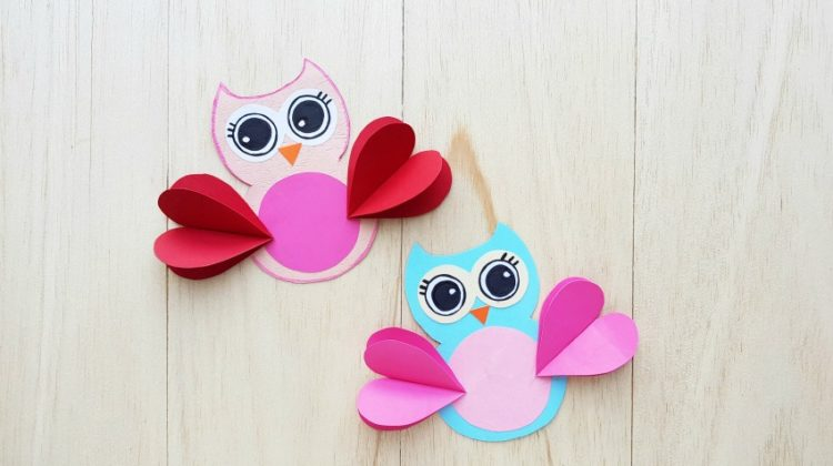 Adorable Valentine's Day Owl Craft for Kids