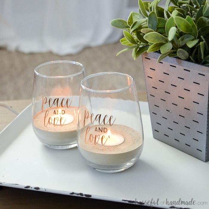 Concrete Tea Light Candle Holders