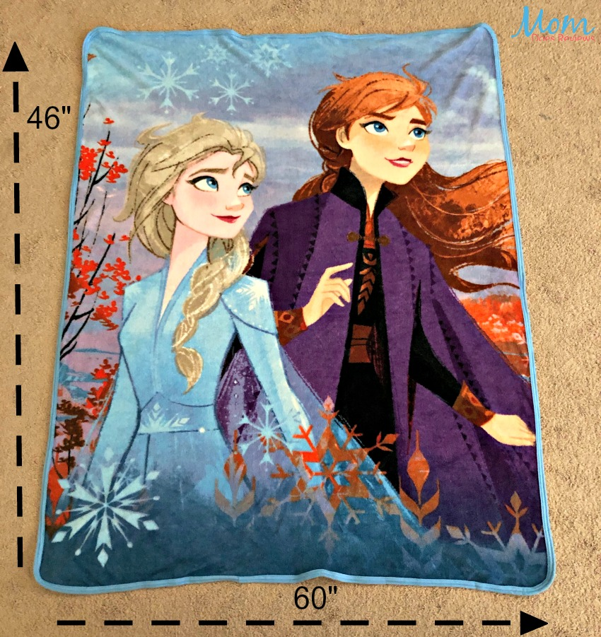 Soft and Cuddly Frozen 2 Blankets and Pillows From Northwest Your Kids Will Love