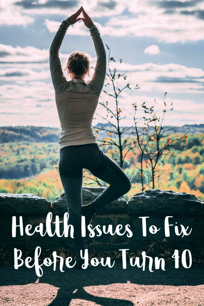 Health Issues To Fix Before You Turn 40
