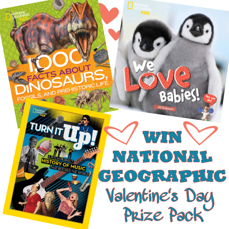 #Win National Geographic Valentine's Day Prize Pack