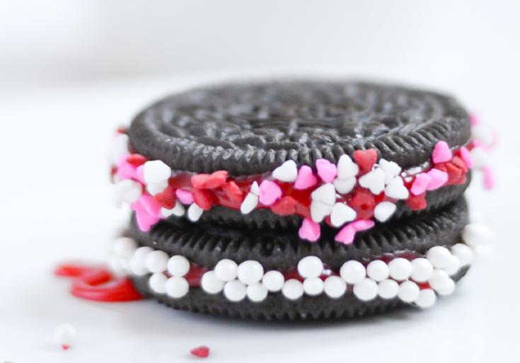 Valentine Oreos & Oreo Krispies Treats