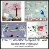 WIN $150 worth of EvgieNev Wall Decals