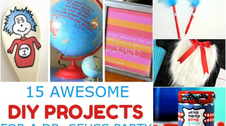 15 Awesome DIY Projects for a Dr. Seuss Party