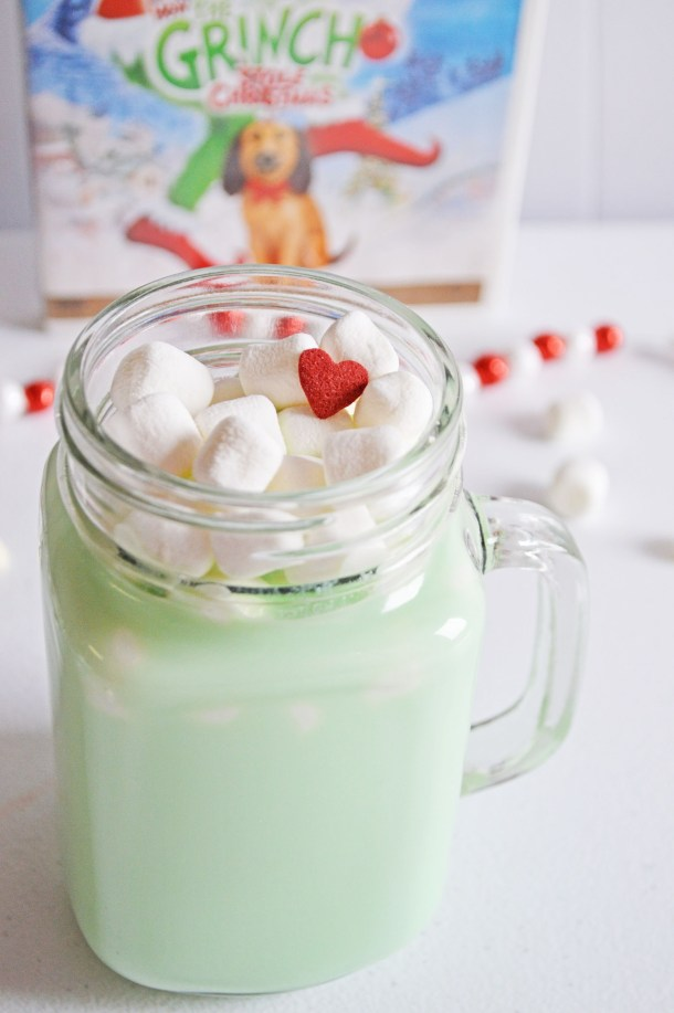 Grinch White Hot Chocolate