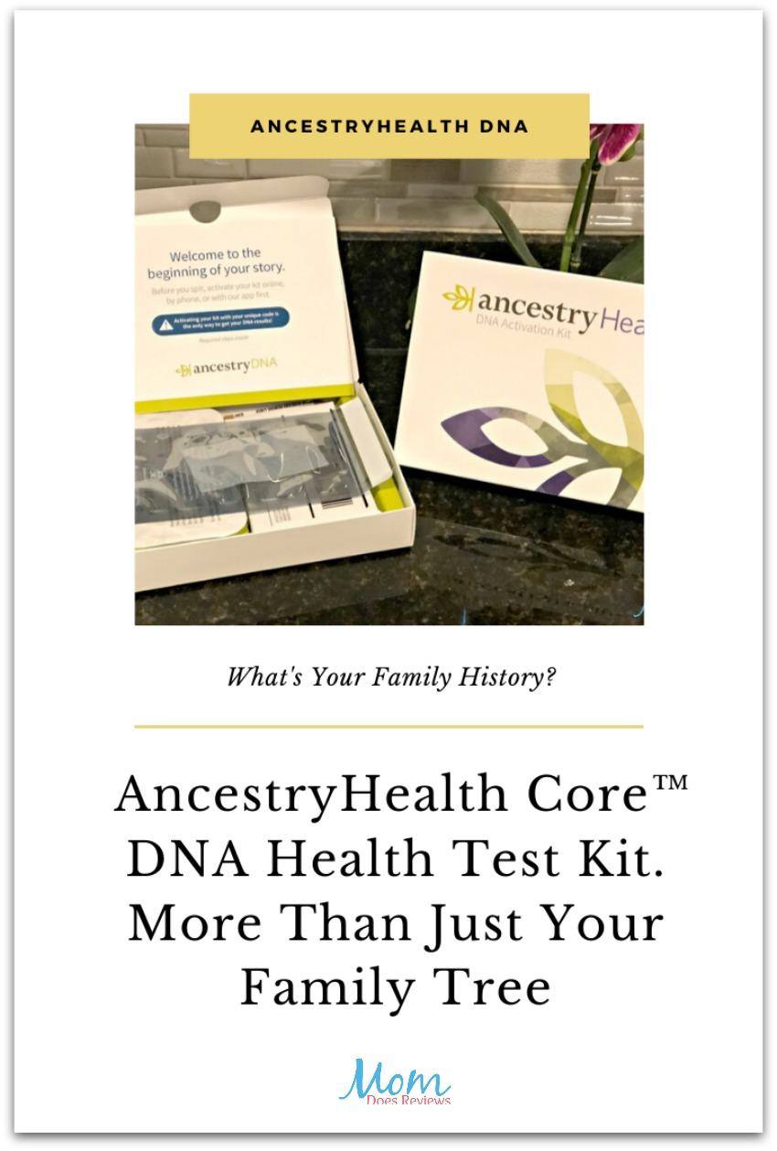 More Than Just a Family Tree With AncestryHealth Core™ DNA Health Test Kit