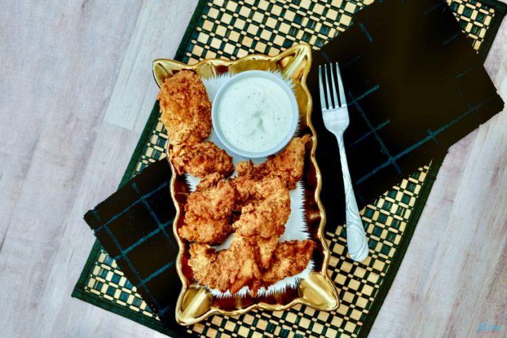Buttermilk Fried Chicken Tenders Recipe