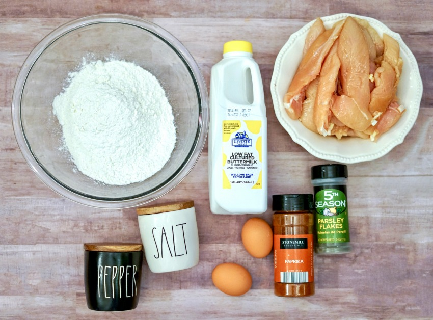 Buttermilk Fried Chicken Tenders ingredients